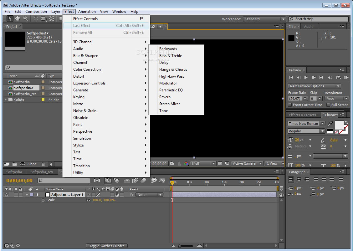 Adobe After Effect CS4 portable